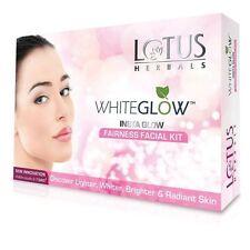 Lotus Herbals White Glow Insta Glow Fairness 1 Facial Kit 40gm Free Shipping