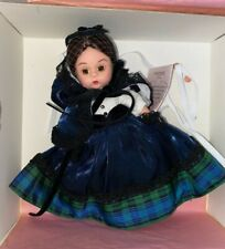 "Madc 2001 8"" Madame Alexander Doll 31511 Louisa May Alcott Coa Nib Aa N526 Pd"