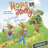 HOPS & HOLLY - HOPS & HOLLY: DIE SCHULE GEHT LOS! (HÖRSPIEL)   CD NEW