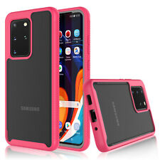 For Samsung Galaxy S20 Plus S20 Ultra 5G Case Shockproof Bumper Back Clear Cover
