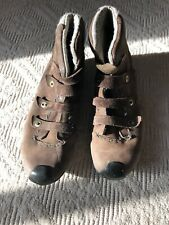 Timberland Smartwool Boots Leather 8.5 Vibram Women's