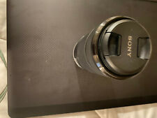 Sony E Mount 55-210mm f/4.5-6.3 OSS Lens SEL55210 with lens and body caps