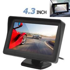 """4.3"""" LCD Parasol voiture de recul Moniteur 2CH d'entrée vidéo DVD VCR Moniteur DC12V-24V"""