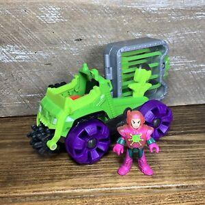 Imaginext DC Super Friends Lex Luthor Hauler Vehicle Lex Figure 2016 Mattel Toy