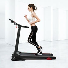 Black Folding Electric Power Treadmill Cardio Walking Fitness Machine Gym/Home