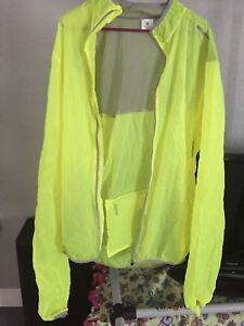 Aero Tech Designs Windbreaker / Men's / 3XL / XXXL / High Visibility - Yellow