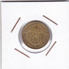Germany ( III Reich ) : 10 Reichspfennig 1937 D XF