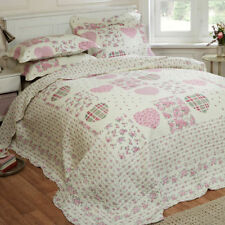 Polyester French Country Decorative Quilts & Bedspreads