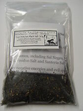TRUE WITCHES BLACK SALT 50g Wicca Witch Pagan NOT JUST DYED SALT READ BELOW
