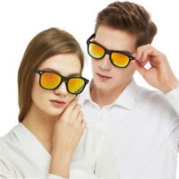 Retro Men's Women Pilot Sunglasses Outdoor Driving Sun Glasses Sport Eyewear New
