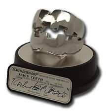 JAMES BOND 007 JAWS TEETH MOVIE PROP REPLICA SIGNATURE LIMITED ED. COLLECTIBLE