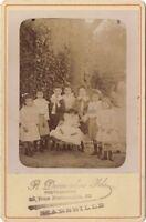 Group Bambini Da R. Desmoulins Marsiglia Vintage Citrato Ca 1890