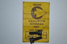 Clinton Engine Nos 258-232-5 Hex Cap Screw & L'Washer Assy. *(2) Piece Lot*