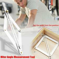 Miter Angle Measuring Tool Protractor Ruler Frame Woodworking Tool Gadget Useful