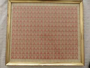 Lettland nr. 1 gezähnt kpl postfr Bogen Original mit Hinterseite Landeskarte
