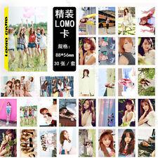KPOP 30pcs EXO Collective Photo Picture Poster Seventeen LOMO Card TWICE VIXX