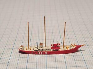 Pharos 1/1250  PH19a Bürgermeister Bartels Light Vessel German waterline
