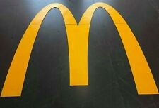 More details for preformed yellow thermoplastic mcdonalds road sign torch-on, reflective marking