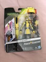 "Power Rangers Beast Morphers Yellow Ranger 6"" Figure with Morph X-Key BNIB"
