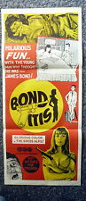 BONDITIS Rare James Bond Spoof Original 1960s Daybill Movie Poster