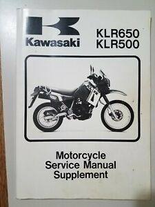 Klr650 Motorcycle Service Repair Manuals For Sale Ebay