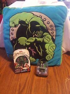 Marvel Incredible Hulk Super Hero Avengers Throw Pillow fidget Spinner Cube