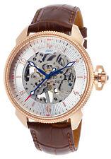 Lucien Piccard Trevi Mechanical Mens Watch LP-40052M-RG-02S-BRW