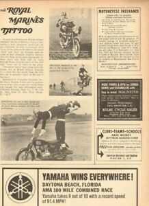 1965 Royal Marines Tattoo Motorcycle Riding Exhibition - Vintage Article