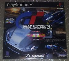Gran Turismo 3 Replay Theater Playstation 2 PS2 Japan  Not for sale NEW