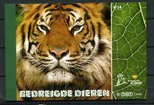 Nederland Prestigeboekje 14 Bedreigde dieren **AANBIEDING**