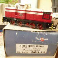 Tillig 96112 TT Diesellok V 60 1154 DR Epoche 3 mit DSS, Lok des BW Dresden