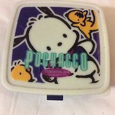 Hello kitty Vintage Sanrio POCHACCO bento container the cool k-9