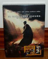 BATMAN-EL CABALLERO OSCURO:LA LEYENDA RENACE-BLURAY+COMIC 64 PAG-NUEVO-SEALED