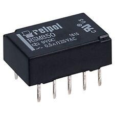 RELPOL RSM850-6112-85-1009 DPDT SUBMINIATURIZZATI segnale Relè 9V 1A PCB