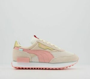 Womens Puma Future Rider Trainers Apricot Blush Sand Trainers Shoes