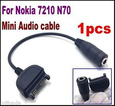 CABLE ADAPTADOR DE AUDIO A JACK 3,5mm HEMBRA PARA NOKIA 3100,7210 AUDIO ADAPTER