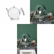 Bredemeijer Duet Bella Ronde 1303CH Double Walled Teapot 0.75 Litre Stainless St