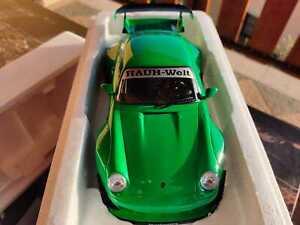PORSCHE 911 (993) RWB verde 1:18 1/1500 scala 1/18 nuovo con scatola.