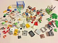 Vintage Geogra Playmobil Collectible 1990's 2000 play Set Large Lot SKU 027-077