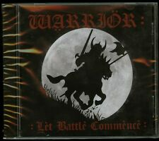 Warrior Let Battle Commence CD new No Remorse Records NRR053