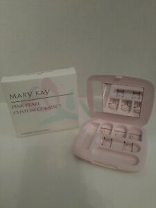 Mary Kay Vintage Pink Pearl Custom Compact #6882 New In Box