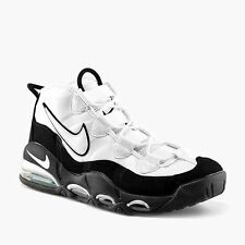 NIKE AIR MAX UPTEMPO SHOES (SIZE 7) MENS NEW 311090-100 BASKETBALL BLACK WHITE