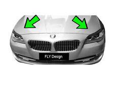 2x Scheinwerferblenden Böser Blick neue Blenden Spoiler für BMW 5er F10 vor LCI
