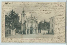 CARTOLINA 1901 VARESE CHIESA DELLA MADONNA IN PRATO 416/A