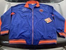 New York Knicks Blue Adult 3XL!!! Zippered Warmup Jacket