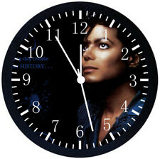 Michael Jackson Black Frame Wall Clock Nice For Decor or Gifts X65