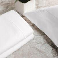 Sleep Like a king Luxury Signature 1 Cal King Sheet Set 100% Cotton 500 TC-White