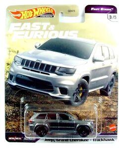 HOT WHEELS / Jeep Grand Cherokee Trailhawk (Metallic Grey) / FAST & FURIOUS.