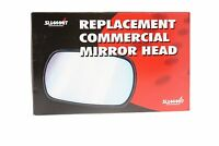 """Summit Replacement Commercial Wing Mirror Flat Glass Only 10"""" x 6"""" Universal New"""