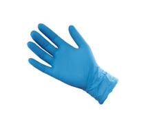 ST Nitrile Gloves (100) Blue Large Mechanic Gloves Automotive Industrial PPE